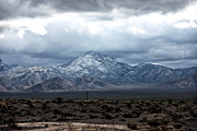 Storm Prints Framed Prints - Mount Charleston Framed Print by John Rizzuto