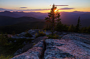 End Of The Day Posters - Mount Chocorua Scenic Area - Albany New Hampshire USA Poster by Erin Paul Donovan