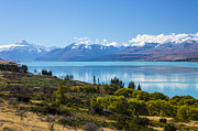 Sheila Smart - Mount Cook with Lake...