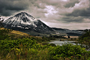Peat Lake Posters - Mount Errigal Poster by Jane McIlroy