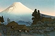 REPRODUCTION - Mount Fuji from Mizukubo