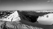 Howe Prints - Mount Garibaldi Summit  Print by Ian Stotesbury