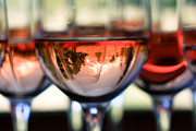 Mount Hood In A Wine Glass Print by Cari Gesch