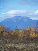 Photos Of Autumn Prints - Mount Katahdin from Stacyville 2 Print by Joseph Marquis