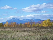 Photos Of Autumn Prints - Mount Katahdin from Stacyville Print by Joseph Marquis