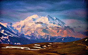 National Parks Paintings - Mount McKinley by John Haldane