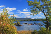 Monadnock Region Posters - Mount Monadnock and Silver Lake Poster by John Burk