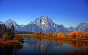 Raymond Salani III - Mount Moran in Autumn