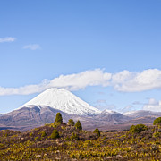 Dramatic Photos - Mount Ngauruhoe Tongariro National Park New Zealand by Colin and Linda McKie