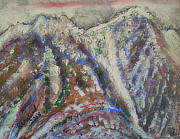 Authority Originals - Mount Olympus winter by Richard W Linford