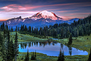Dennis Sabo - Mount Rainier Sunrise