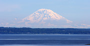 Tap On Photo Prints - Mount Rainier Print by Marcia Fontes Photography