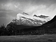 Rundle Posters - Mount Rundle at Banff National Park Poster by RicardMN Photography
