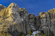 Mount Rushmore National Memorial Print by Ken Lane