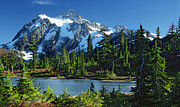 Randal Ketchem - Mount Shuksan at Picture...
