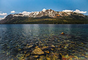 Mitch Shindelbower Prints - Mount Tallac View From Fallen Leaf Lake Print by Mitch Shindelbower