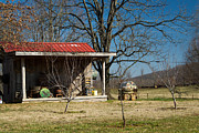 Mountain Cabin Photo Prints - Mountain Cabin in Tennessee 2 Print by Douglas Barnett
