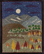 Field Tapestries - Textiles - Mountain Field by Jan Schlieper