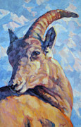 Wildlife Art Paintings - Mountain Folk by Patricia A Griffin