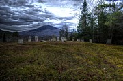 Final Resting Place Posters - Mountain Graves Poster by Armand  Roux - Northern Point Photography