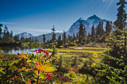 Amazing Landscape Prints - Mountain Lake  Print by Puget  Exposure