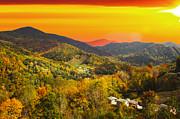 Randall Branham - Mountain Life at Sundown