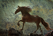 Wild Horses Digital Art - Mountain Majesty by Melinda Hughes-Berland