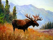 Robert Stump - Mountain Moose