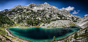 Mountain Scene Prints - Mountain Panorama Print by Ian Hufton