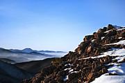 Mountain Peak Print by Jelena Jovanovic