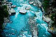 Ganga Photos - Mountain river Ganga in Himalayas by Raimond Klavins