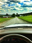 Sunday Drive Photos - Mountain Road by Tom Wilkinson