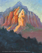 Award Digital Art Originals - Mountain Sky and Sunset in Sedona Arizona by Catherine Twomey
