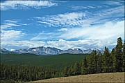 Big Horn  Photography - Mountain Sky