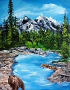 Ellen Canfield - Mountain stream