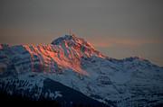 Susanne Van Hulst - Mountain Sunset in Switzerland