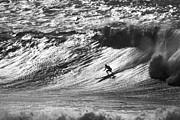 Mountain Surfer Print by Sean Davey
