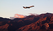 Delta Photos - Mountain Takeoff by John Daly