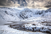 Llyn Idwal Prints - Mountain View Print by Christine Smart