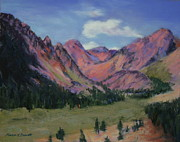 Yosemite Pastels - Mountain View by Marion Derrett