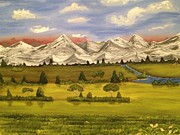 Mountain View Print by Scott Wilmot