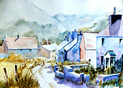 Photo  Paintings - Mountain village by Steven Ponsford
