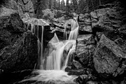 Gabriel Posters - Mountain Waterfall Poster by Garett Gabriel