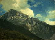 Famous Artists - Mountains by Albert Bierstadt