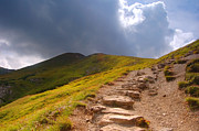 Wanderer Photos - Mountains hiking trail by Michal Bednarek