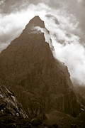 Storm Photographs Posters - Mountainscape Poster by Frank Tschakert