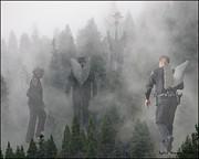 Mourning Mist Print by Lydia Warner Miller