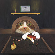 Cat Story Originals - Mouse House by Karen Zuk Rosenblatt