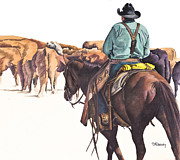 Cowboy Hat Originals - Move Em Out by JK Dooley