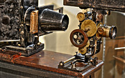 Turn Of The Century Digital Art - Movie Projector by Timothy Lowry